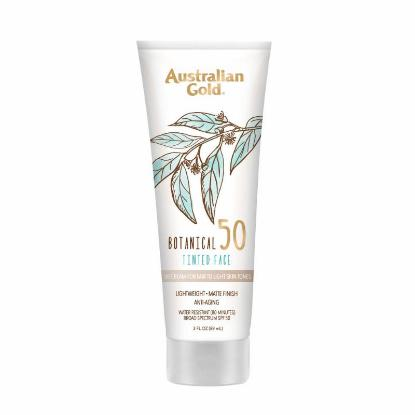 Picture of Australian Gold Botanical Spf 50 Tinted Face Sunscreen Fair To Light 89ml