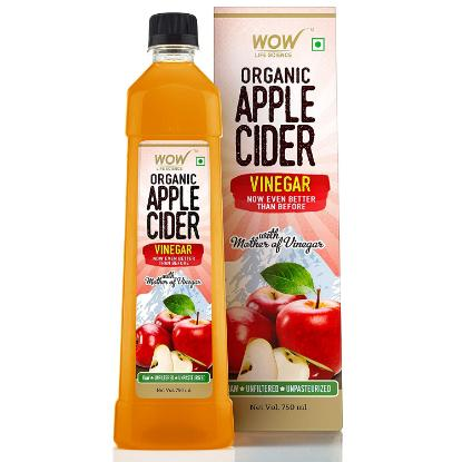 Picture of WOW Organic Apple Cider Vinegar With Mother