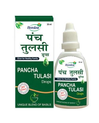 Picture of Pancha Tulsi Drop 30ml' Bottle