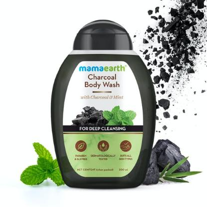 Picture of Mamaearth Charcoal Body Wash with Charcoal & Mint 300ml