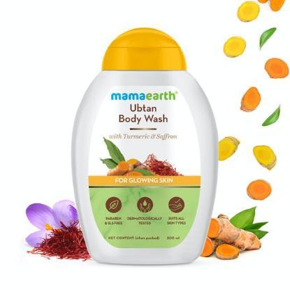Picture of Mamaearth Ubtan Body Wash with Turmeric & Saffron 300ml