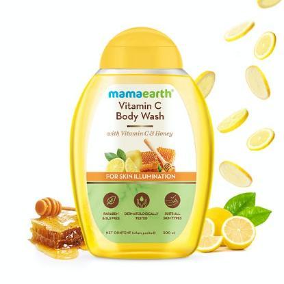 Picture of Mamaearth Vitamin C Body Wash with Vitamin C & Honey 300ml