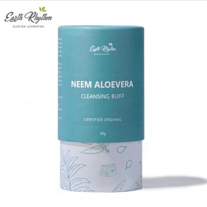 Picture of Earth Rhythm Neem & Aloevera Cleansing Buff - 50gm