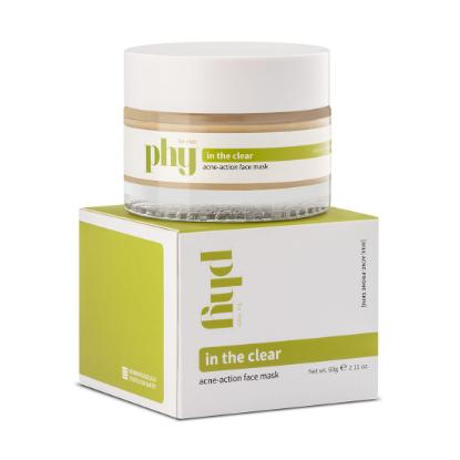 Picture of Plum In The Clear Acne-Action Face Mask 60gm