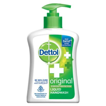 Picture of Dettol Original Germ Protection Handwash Liquid Soap Pump, 200ml