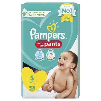 Picture of Pampers Diapers Small Pack of 58