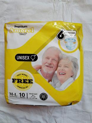 Picture of Premium Amorel Adult Diaper L-XL