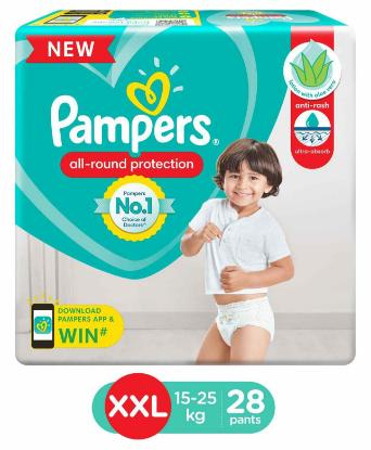 Picture of Pampers XXL Pant Type 28pcs