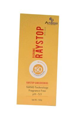 Picture of Biorome Raystop Sunscreen Gel SPF-50