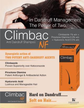 Picture of Climbac NF Anti-Dandruff Shampoo 100ml