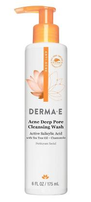 Picture of Derma E Acne Deep Pore Cleansing Wash 175ml