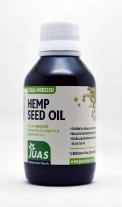 Picture of Juas Cold Pressed Hemp Seed Oil 120ml