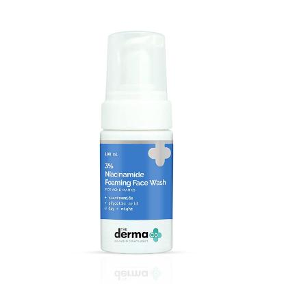 Picture of The Derma Co 3% Niacinamide Foaming Face Wash 100ml