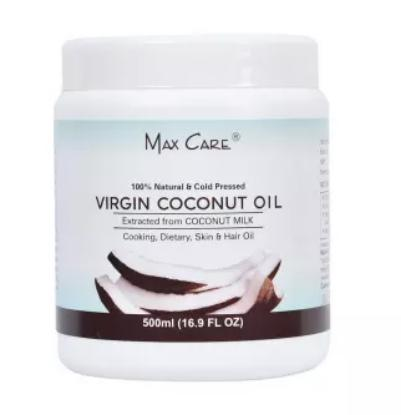 Picture of Max Care Virgin Coconut Oil Wide Mouth 500 ml