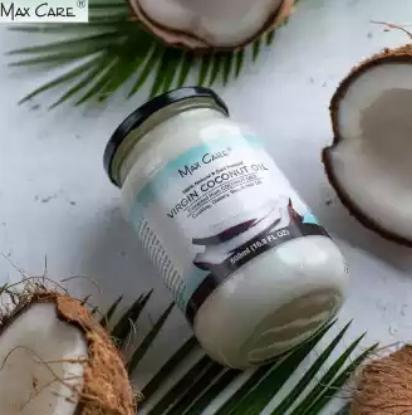 Picture of Max Care Virgin Coconut Oil Glass Jar 500 ml