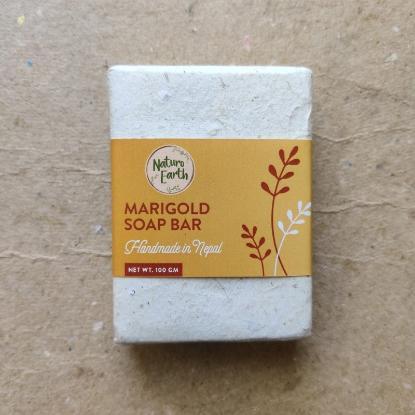 Picture of Naturo Earth Marigold Soap 100gm