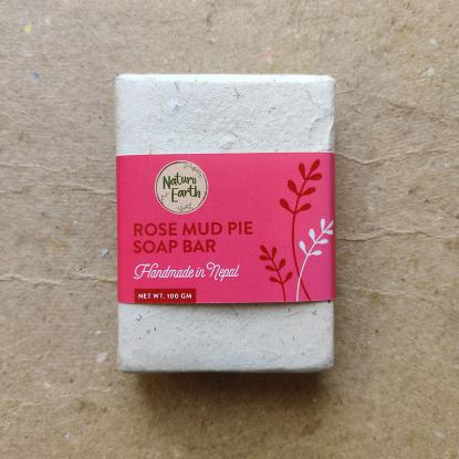 Picture of Naturo Earth Rose Mud Pie and Sandalwood Soap 100gm