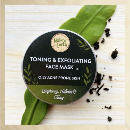 Picture of Naturo Earth Toning and Exfoliating Face Mask 50gm
