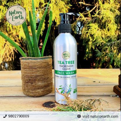 Picture of Naturo Earth Tea Tree Oil Face Wash 200ml