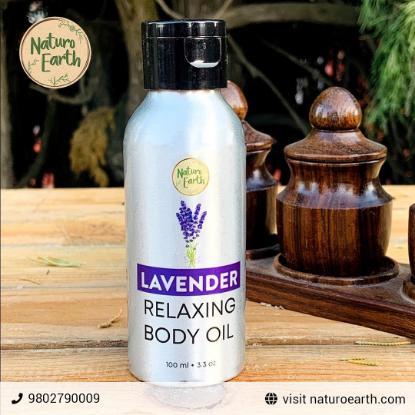 Picture of Naturo Earth Lavender Body Oil 100ml