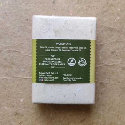 Picture of Naturo Earth Herbal Shampoo Bar 100gm