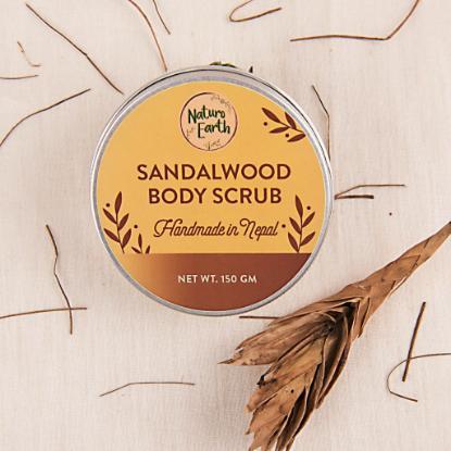 Picture of Naturo Earth Sandalwood Body Scrub 150gm