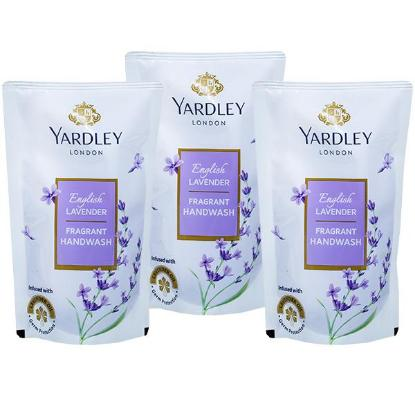 Picture of Yardley London English Lavender Hand Wash 3 in 1 Refill 180ml