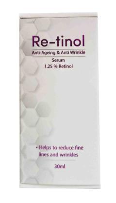 Picture of Re-tinol Anti Ageing & Anti Wrinkle Serum 30ml