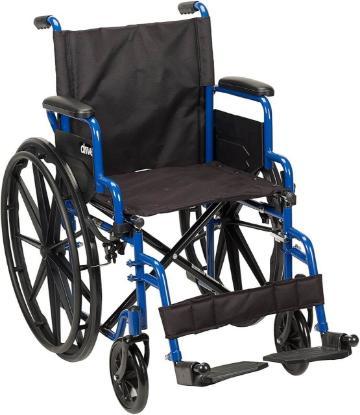 Picture of Devilbiss Blue Streak Wheelchair