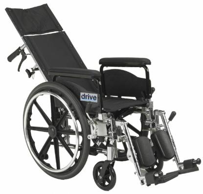Picture of Devilbiss Viper Plus Reclining Wheelchair